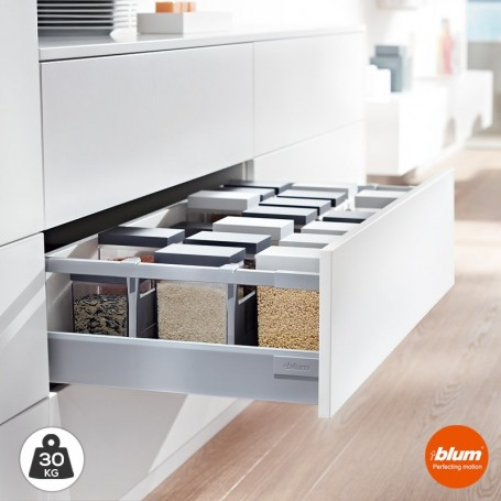 Caj n cacerolero de cocina tandembox antaro d 30 kg for Accesorios para cajones de cocina
