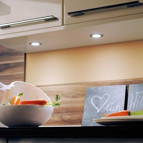 foco led 12v 3 2w 4000k microlux para cocina