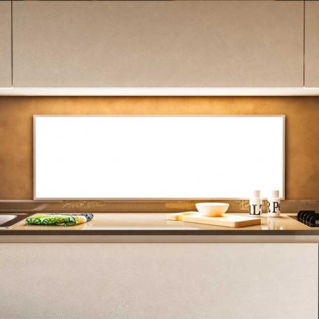 Panel mural led retroiluminado wall 12v 4000k para cocina for Cocinar 12v