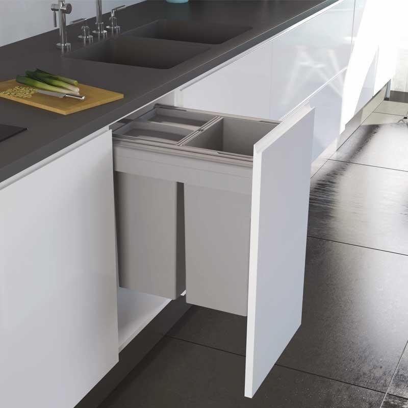 Cubo reciclaje basura concept 560 altura 463 para cocina - Cubos reciclaje cocina ...