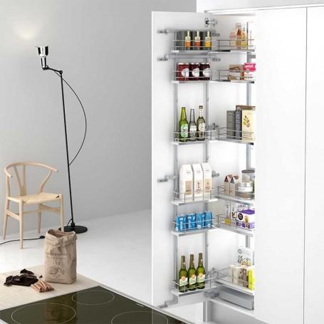 Bastidor extraible despensero para mueble columna de cocina for Muebles de cocina en kit online