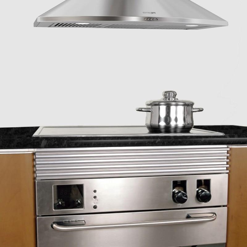 Rejilla de ventilaci n de acero inoxidable para horno for Zocalo cocina leroy merlin