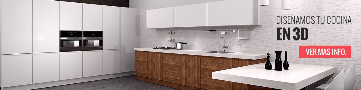 Mueble columna horno y microondas y cajones para cocina for Mueble columna cocina