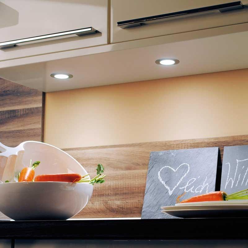 Foco led 12v 3 2w 4000k microlux para cocina - Focos led cocina ...