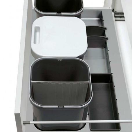 Kit Cubos Basura Reciclaje Ecológico Line