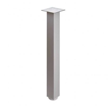 Pata Aluminio Cuadrada para Mesa