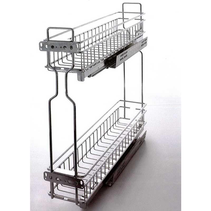 Botellero Especiero Extraible para Mueble de Cocina