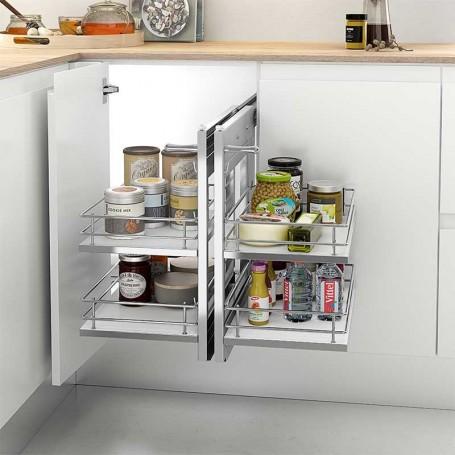 Extraible Articulado de Acero/Melamina para Mueble de Cocina