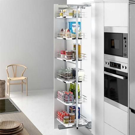 Bastidor extraible rotatorio para mueble columna de cocina for Muebles de cocina en kit online