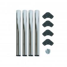 Pata de Mesa Regulable en Acero D. 60 mm (4 uds)
