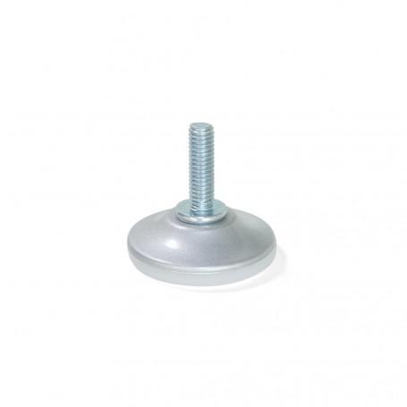 Pie Nivelador con Base Circular M6 (20 uds)