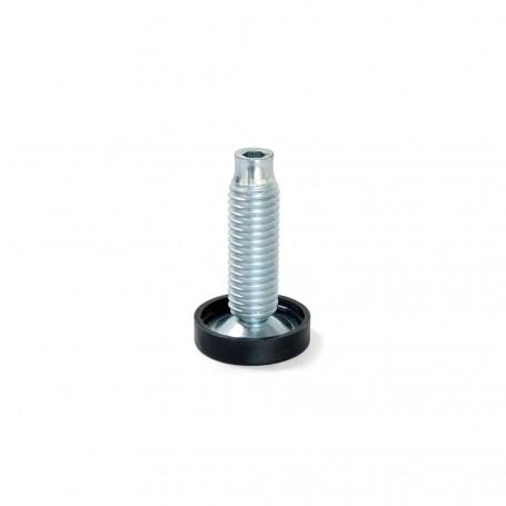 Pie Nivelador con Base Circular M10 D. 23 mm (20 uds)