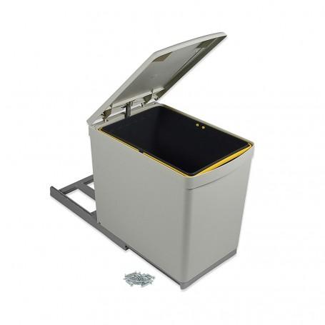 Cubo Basura 16 L Extracción Manual Tapa Automática