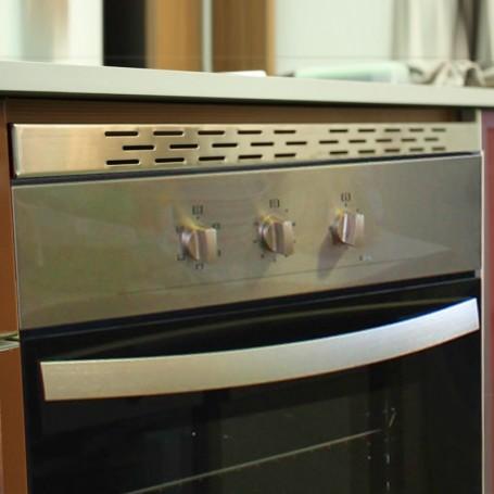 Rejilla de Ventilación de PVC para Placas de Inducción