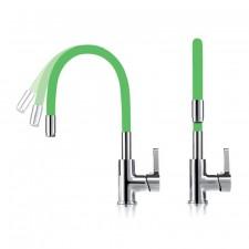 Grifo Flexible Color Verde