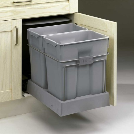 Cubo de Basura Ecológico 30 + 30 L