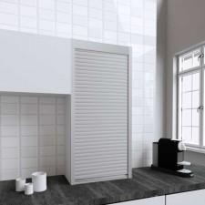 Persiana de 60 x 130 cm de PVC Inox para Mueble de Cocina