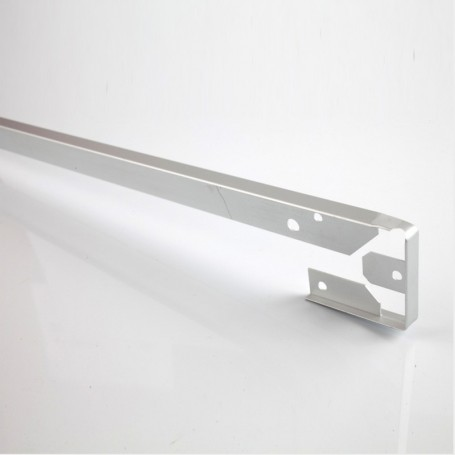 Unión en Ángulo de Aluminio para Encimera Postformada de 4 cm