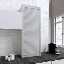 Persiana de 60 x 150 cm de PVC Inox para Mueble de Cocina