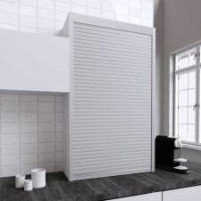 Persiana de 90 x 150 cm de PVC Inox para Mueble de Cocina