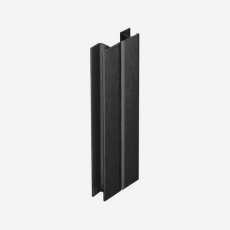 Multi-Ángulo Negro para Zócalo de PVC de Cocina