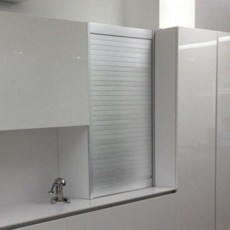 Persiana de Aluminio Inox para Mueble de Cocina