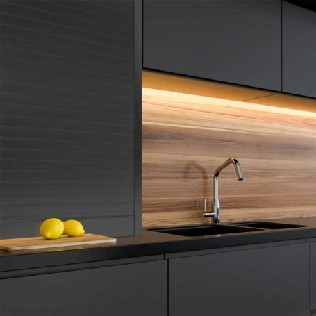 Kit Persiana Aluminio Antracita para Muebles de Cocina