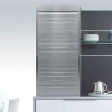 Persiana de Aluminio Satinado Natural para Mueble de Cocina