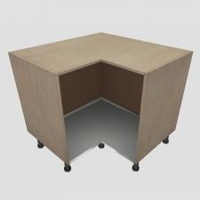 Protector de Aluminio para Base de Mueble Fregadero Rincón