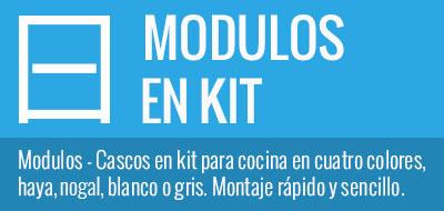 Módulos/Cascos en Kit para Cocina - CocinasKitOnline.com